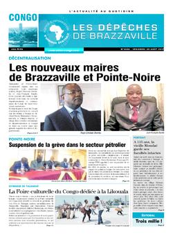 Les Dépêches de Brazzaville : Édition brazzaville du 25 août 2017