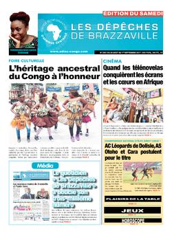Les Dépêches de Brazzaville : Édition du 6e jour du 26 août 2017