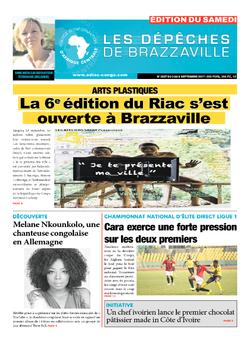 Les Dépêches de Brazzaville : Édition du 6e jour du 02 septembre 2017
