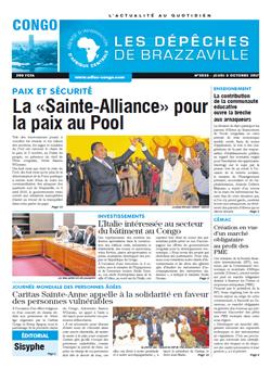 Les Dépêches de Brazzaville : Édition brazzaville du 05 octobre 2017