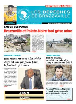 Les Dépêches de Brazzaville : Édition du 6e jour du 07 octobre 2017