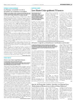 Les Dépêches de Brazzaville : Édition le courrier de kinshasa du 13 octobre 2017
