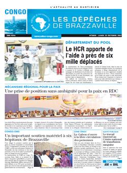 Les Dépêches de Brazzaville : Édition brazzaville du 23 octobre 2017