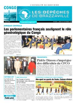 Les Dépêches de Brazzaville : Édition brazzaville du 26 octobre 2017