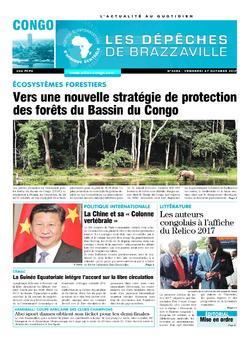 Les Dépêches de Brazzaville : Édition brazzaville du 27 octobre 2017
