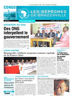 Les Dépêches de Brazzaville : Édition brazzaville du 30 octobre 2017