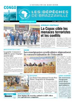 Les Dépêches de Brazzaville : Édition brazzaville du 31 octobre 2017