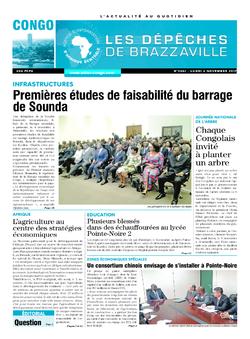 Les Dépêches de Brazzaville : Édition brazzaville du 06 novembre 2017
