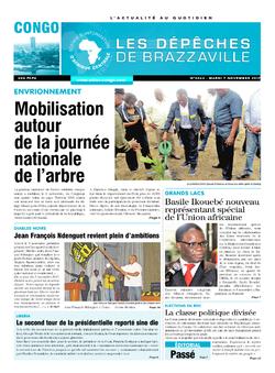 Les Dépêches de Brazzaville : Édition brazzaville du 07 novembre 2017