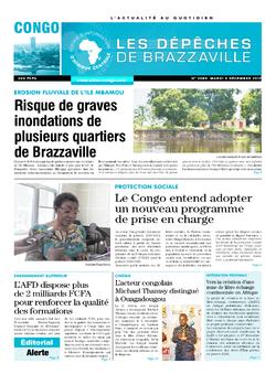 Les Dépêches de Brazzaville : Édition brazzaville du 05 décembre 2017