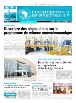 Les Dépêches de Brazzaville : Édition brazzaville du 06 décembre 2017