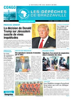 Les Dépêches de Brazzaville : Édition brazzaville du 08 décembre 2017