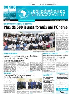 Les Dépêches de Brazzaville : Édition brazzaville du 14 décembre 2017