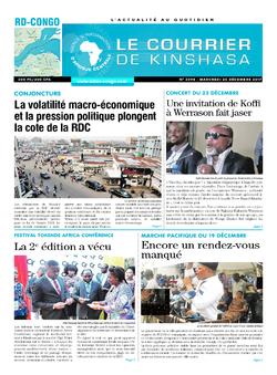 Les Dépêches de Brazzaville : Édition brazzaville du 20 décembre 2017
