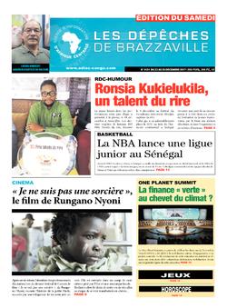 Les Dépêches de Brazzaville : Édition du 6e jour du 23 décembre 2017