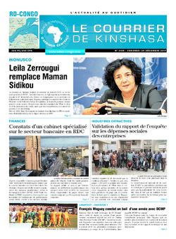 Les Dépêches de Brazzaville : Édition brazzaville du 29 décembre 2017