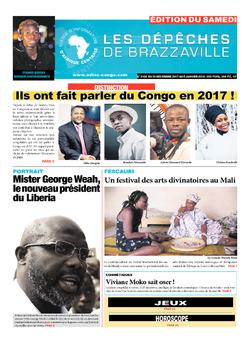 Les Dépêches de Brazzaville : Édition du 6e jour du 30 décembre 2017