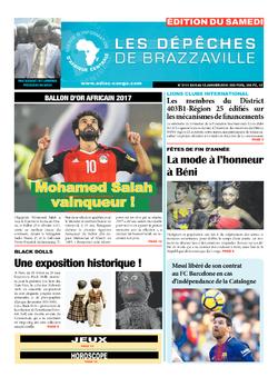 Les Dépêches de Brazzaville : Édition du 6e jour du 06 janvier 2018