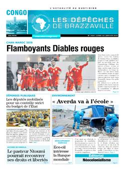 Les Dépêches de Brazzaville : Édition brazzaville du 22 janvier 2018