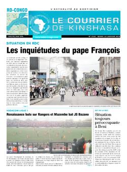 Les Dépêches de Brazzaville : Édition brazzaville du 23 janvier 2018