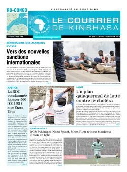 Les Dépêches de Brazzaville : Édition brazzaville du 25 janvier 2018