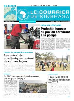 Les Dépêches de Brazzaville : Édition brazzaville du 26 janvier 2018