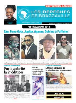 Les Dépêches de Brazzaville : Édition du 6e jour du 03 février 2018