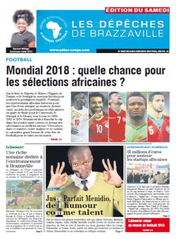 Les Dépêches de Brazzaville : Édition du 6e jour du 02 juin 2018