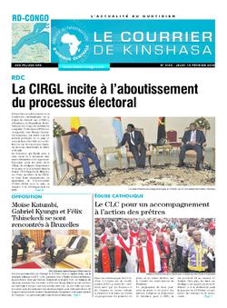 Les Dépêches de Brazzaville : Édition le courrier de kinshasa du 15 février 2018