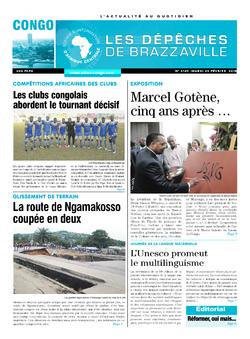 Les Dépêches de Brazzaville : Édition brazzaville du 20 février 2018