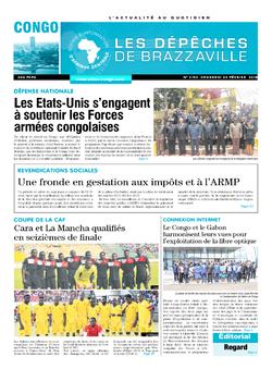 Les Dépêches de Brazzaville : Édition brazzaville du 23 février 2018