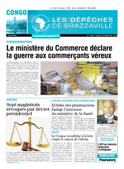 Les Dépêches de Brazzaville : Édition brazzaville du 26 février 2018