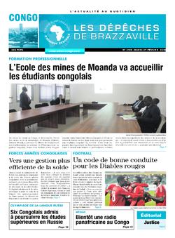 Les Dépêches de Brazzaville : Édition brazzaville du 27 février 2018