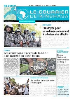 Les Dépêches de Brazzaville : Édition le courrier de kinshasa du 27 février 2018