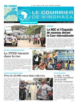 Les Dépêches de Brazzaville : Édition brazzaville du 05 mars 2018