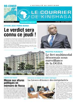 Les Dépêches de Brazzaville : Édition brazzaville du 08 mars 2018