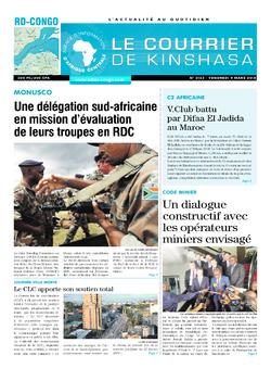 Les Dépêches de Brazzaville : Édition brazzaville du 09 mars 2018