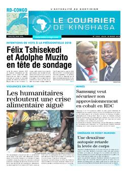 Les Dépêches de Brazzaville : Édition brazzaville du 15 mars 2018