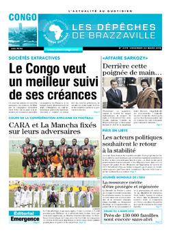 Les Dépêches de Brazzaville : Édition brazzaville du 23 mars 2018