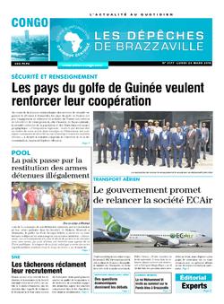 Les Dépêches de Brazzaville : Édition brazzaville du 26 mars 2018
