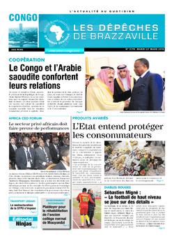 Les Dépêches de Brazzaville : Édition brazzaville du 27 mars 2018