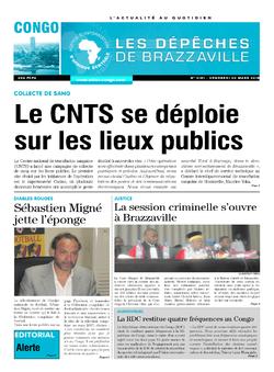 Les Dépêches de Brazzaville : Édition brazzaville du 30 mars 2018
