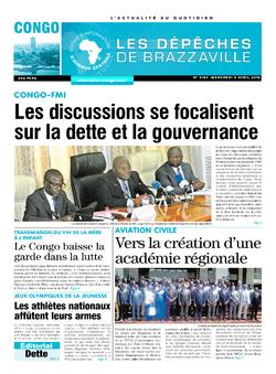 Les Dépêches de Brazzaville : Édition brazzaville du 04 avril 2018