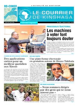 Les Dépêches de Brazzaville : Édition brazzaville du 05 avril 2018