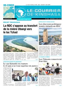 Les Dépêches de Brazzaville : Édition brazzaville du 06 avril 2018