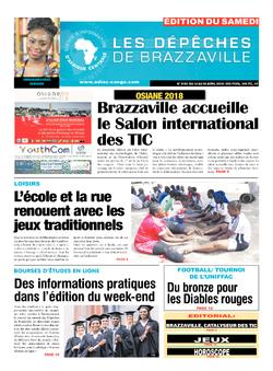 Les Dépêches de Brazzaville : Édition du 6e jour du 14 avril 2018