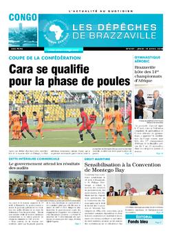 Les Dépêches de Brazzaville : Édition brazzaville du 19 avril 2018