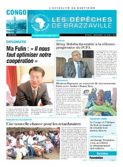 Les Dépêches de Brazzaville : Édition brazzaville du 25 avril 2018