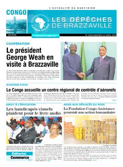 Les Dépêches de Brazzaville : Édition brazzaville du 27 avril 2018