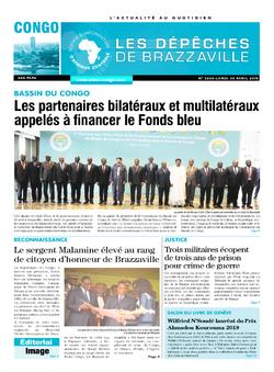 Les Dépêches de Brazzaville : Édition brazzaville du 30 avril 2018